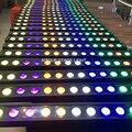 8 шт./лот Светодиодная панель cob dmx512 светодиодная настенная шайба 14x18 Вт Светодиодная rgbwa УФ-шайба 18 Вт Матрица светодиодная настенная шайба ...