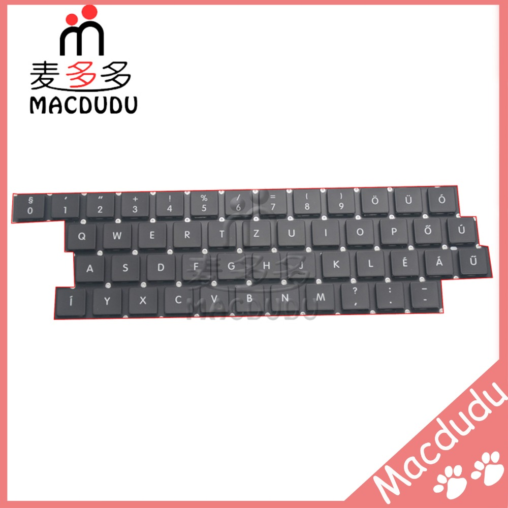 48pcs Keyboard Replacement Keys for 13 Macbook Air A1369 A1466 2011-2015 Hungary Layout  AC06 Type *Verified Supplier* hsw rechargeable battery for apple for macbook air core i5 1 6 13 a1369 mid 2011 a1405 a1466 2012