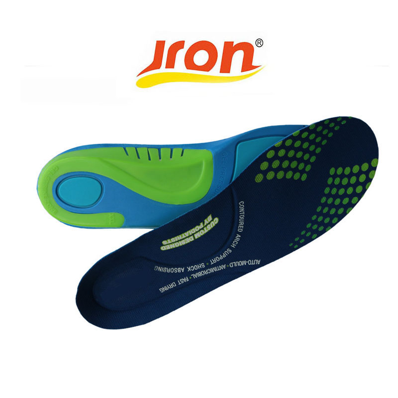 1 Pair Top Quality Gel Silicone Sports Insole Massaging Insole Orthopedic Insole Silicon Plantar Fasciitis Sports Running