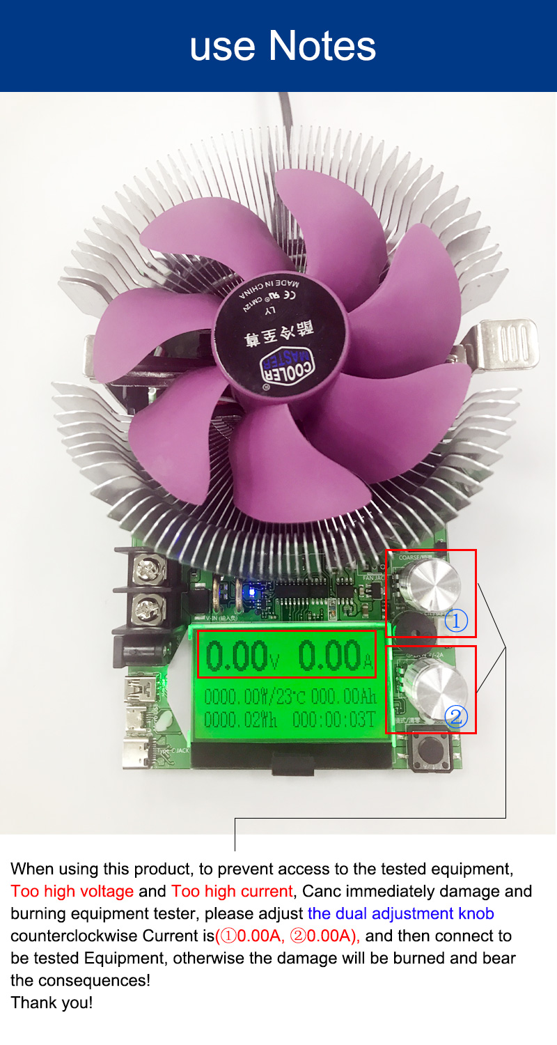 150w 180w Dc Digital Voltmeter Constant Current Electronic Load 200v Led 5012 Psu Batt Chargers Components
