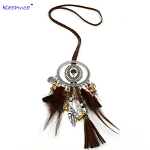 New ethnic necklace africa mask charm pendants national pendant necklace Tibetan silver vintage boho ethnic necklace 50pcs tibetan silver cute roller skate ditsy charm necklace sp chain xa18