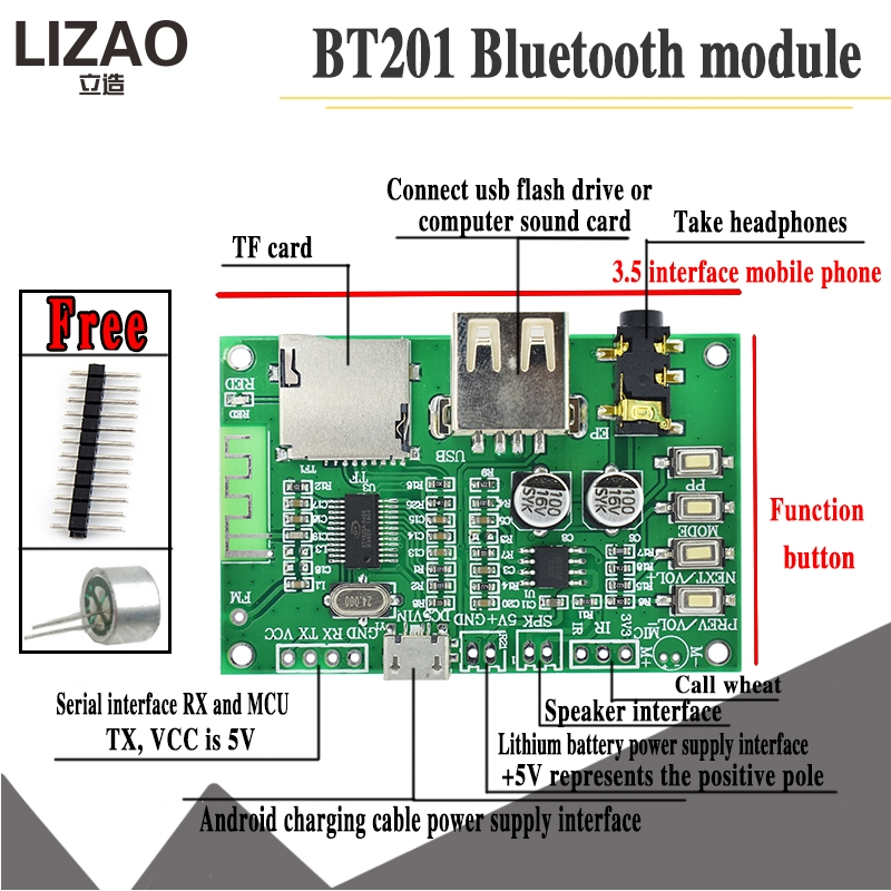 All kinds of cheap motor bluetooth 5 0 modul audio in All A
