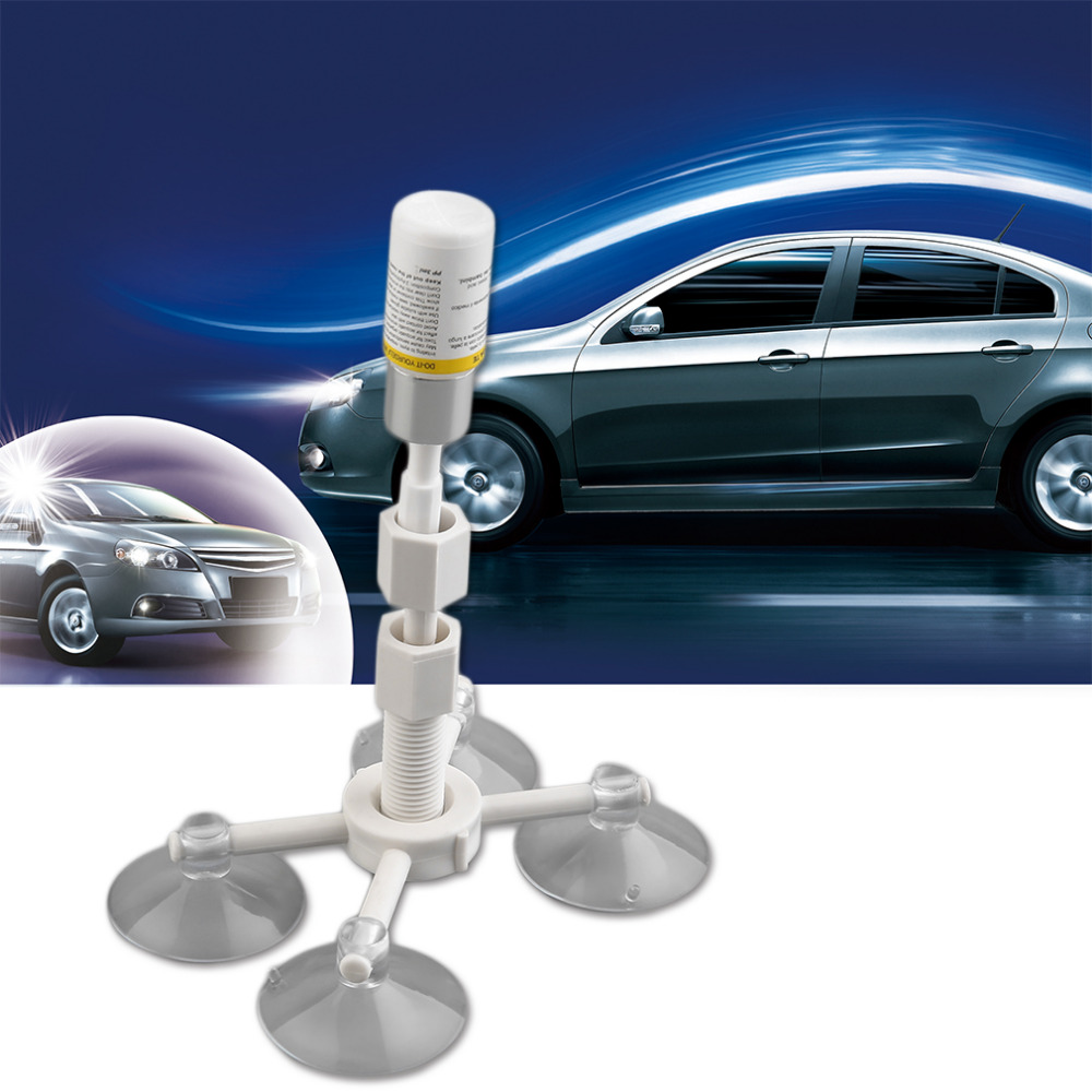 Car Windscreen Windshield Glass Repair Kit Tool Car Windshield Rock Chip Repair Kits Car-styling Drop Shipping
