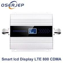 ЖК дисплей LTE UMTS 850 МГц GSM CDMA 2 г 3G 4G Беспроводной сотового телефона ретранслятор сигнала 850 МГц Мобильный телефон повторитель усилитель сигнала