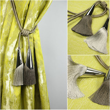 1 пара подвешиваемых шаров, завязанных кисточками, Висячие шипы, ремень в форме рога, металлическая веревка, простая современная лента для галстука, сзади M708