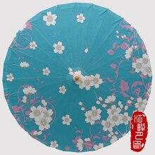 Spring Cherry Classic Oil Paper Umbrella Decoration Cos stage Props Umbrella Personalize Custom Ancient Parasol Wedding Umbrella декоративный зонтик paper umbrella