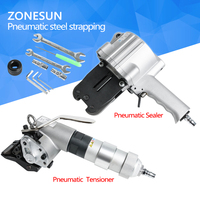 ZONESUN 공압 포장 기계 0.4 ~ 0.6 MPA 스틸 소재 달아서 도구 포장 기계