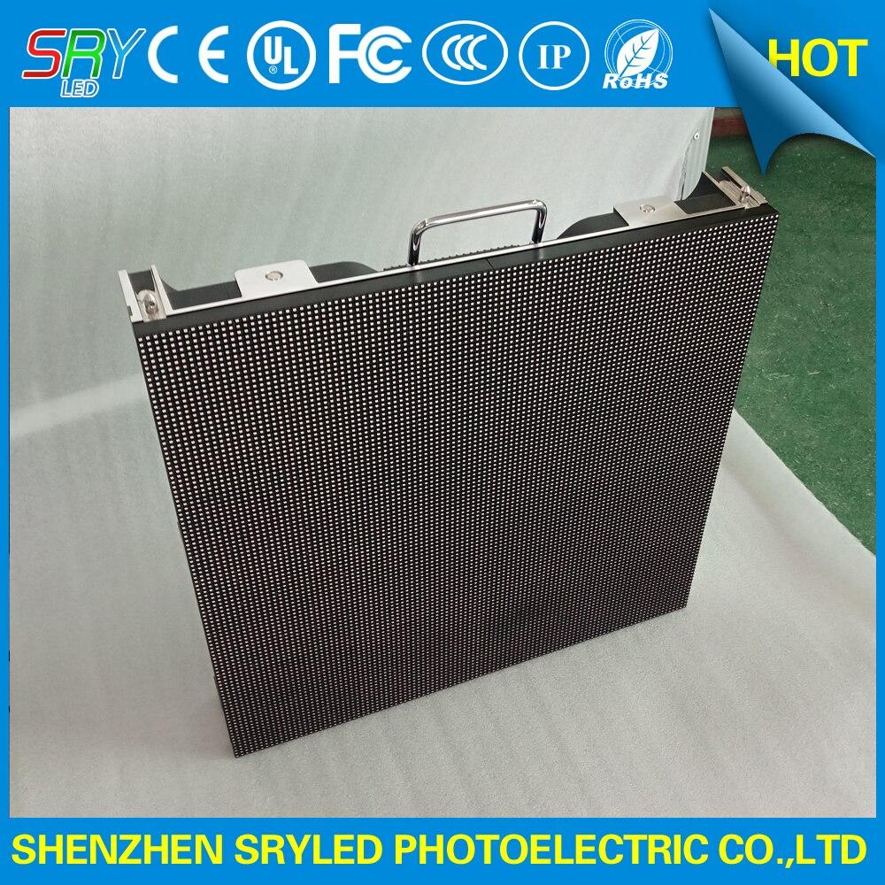 P4.81 extérieur Smd a mené l'affichage grand écran avec le coffret en aluminium de moulage mécanique sous pression imperméable 500x500mm