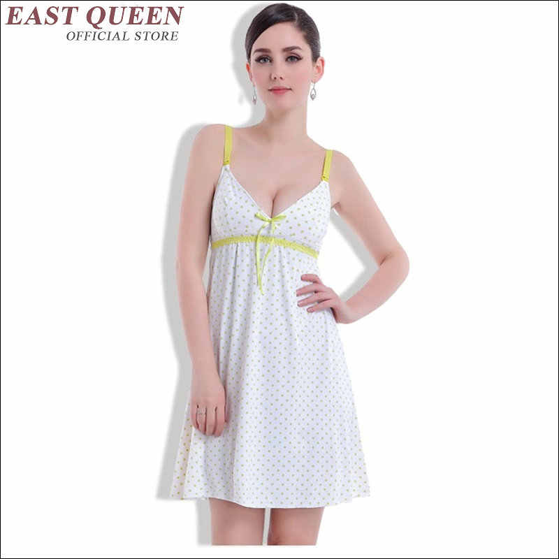 e8ec1651e1de2 ... Summer maternity clothing women nursing clothes sleepwear breastfeeding  clothing nightgown maternity clothes pregnancy AA1753 ...