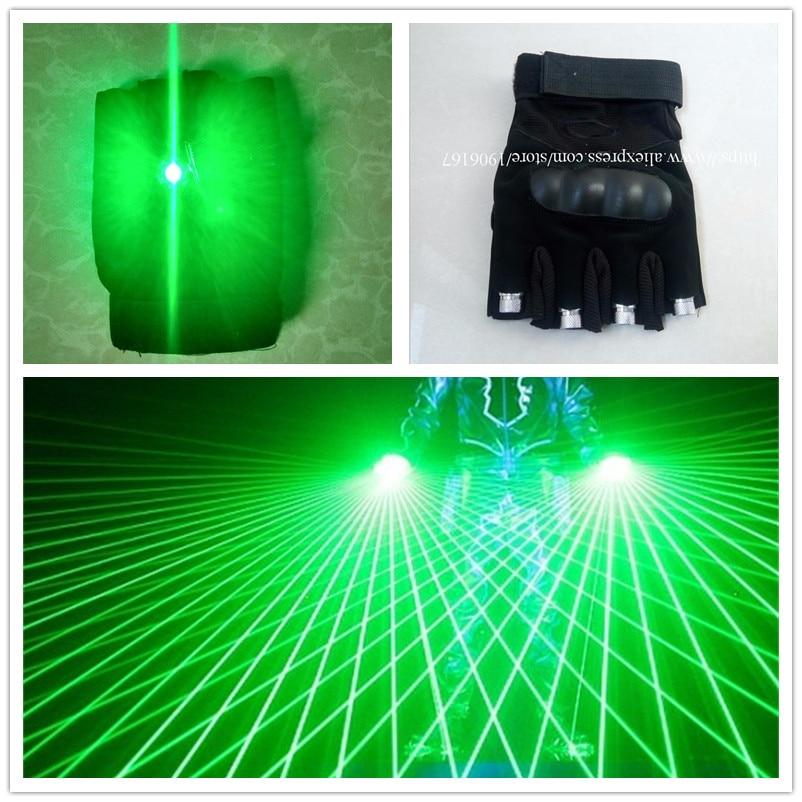 Doreza me lazer me dizajn të ri me 4 copë DJ të gjelbër me dritat - Furnizimet e partisë - Foto 1