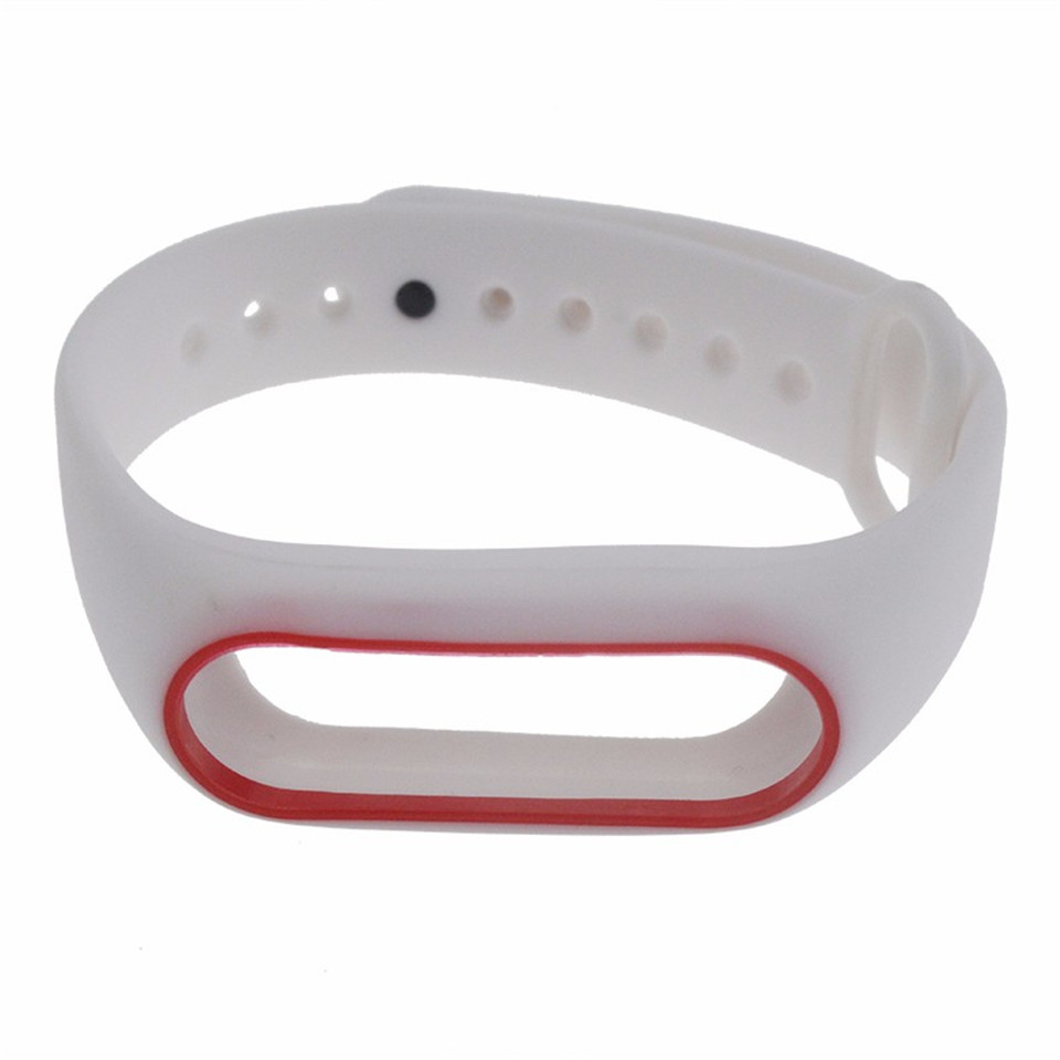 Teyo Colorful Wristband For Xiaomi Mi Band 2 Smart Accessories Replacement Silicon Strap For Xiaomi MiBand 2 Durable Anti Lost 12