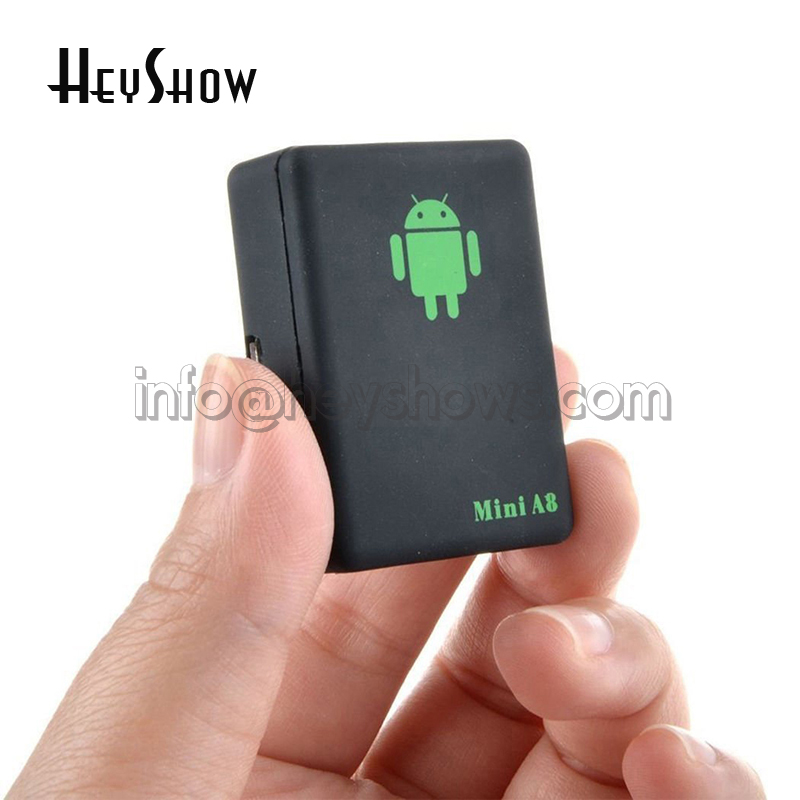 A8 Super Mini Portable Waterproof Auto GPS Tracker SOS Tracking Real Time Vehicle/Pet/Car/Elderly/Kids Locator Anti Theft Device