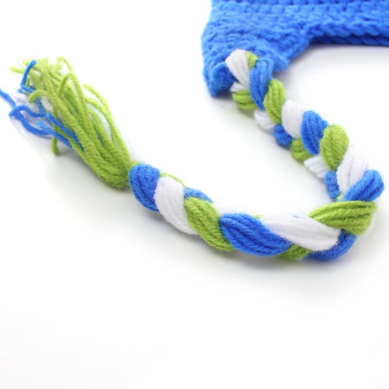 Aliexpress.com: Comprar Neonatal del bebé tejido a mano gorro de ...