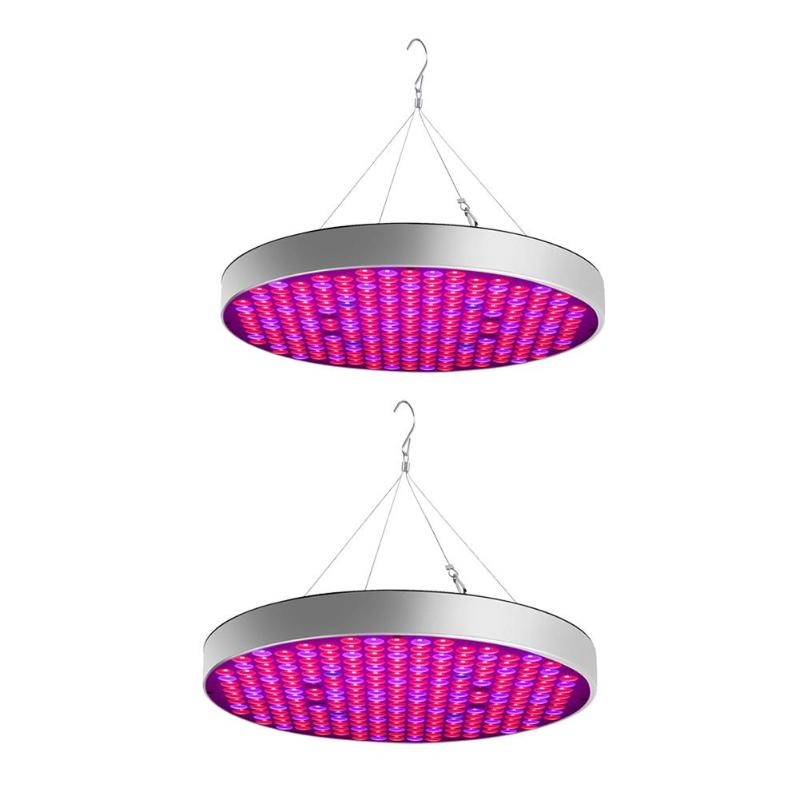 Round Growing Lamps LED Grow Light 50W AC85-265V Full Spectrum Plant Lighting For Plants Flowers Seedling Cultivation