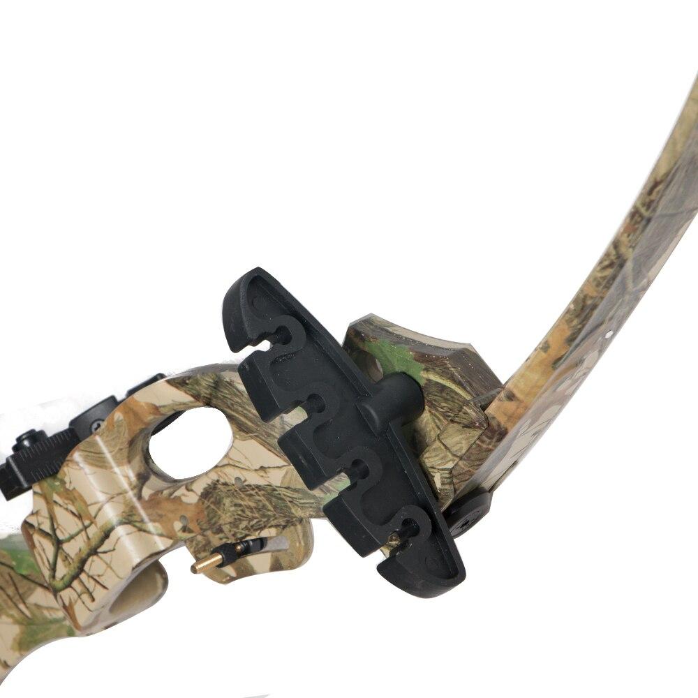 Лук, ориентированный на унисекс, для взрослых или для детей младшего возраста, с бантом со стрелкой, колчан, стрелка для отдыха, контактный вид, защита на руку для лучника, бант, палец - 5