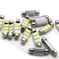 10X 36mm 39mm 42mm C5W C10W 9 led 5730 Festoon CANBUS NO Error Car Licence Plate Light Auto dome Lamps Interior Lights white