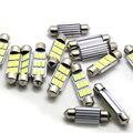 10X36mm 39mm 42mm C10W C5W 9 led 5730 Del Adorno de CANBUS NO Error Luz de la Matrícula Del Coche Auto Luces Interiores Luces de bóveda blanco