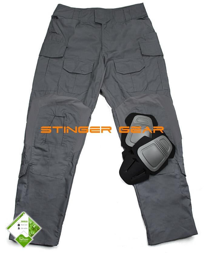 G3 Combat Pants Wolf Grey 3D Urban Tactical Combat Pants Teflon Coating+Free shipping(STG050796) g3 combat pants wolf grey 3d urban tactical combat pants teflon coating free shipping stg050796