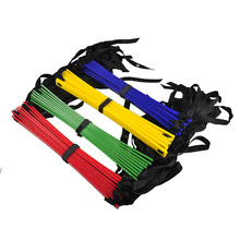 Outdoor Sport Rung Agility Soccer Football Training Ladder Nylon Strap for Football Speed Training Equipment 5 Meters With Bag