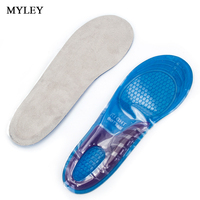 MYLEY Silicone Gel Sports Orthotic Insoles Full Length Performance Shoe Inserts Perfect For Alleviating Foot Pain