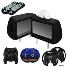 2 шт. 10.1 дюймов Подголовник Dvd-плеер Автомобиля Заднее Сиденье Медиа-Плеер с FM/IR/USB/SD (MP5)/Wireless Игры/HDMI (Опция Сенсорного Экрана)