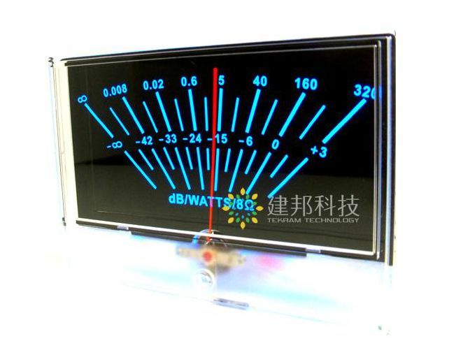 купить Black Audio power preamplifier VU meter DB level Header sound pressure table по цене 2910.51 рублей