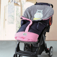 Envelope For Newborn Baby Stroller Sleeping Bag Footmuff Sack Infant Pushchair Foot Cover For Pram Baby Bed Swaddle Winter Wrap