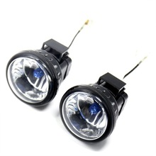 1Pair H3 Auxiliary Driving Light For Harley Touring Street Glide Road K & All Motorycyle Bike
