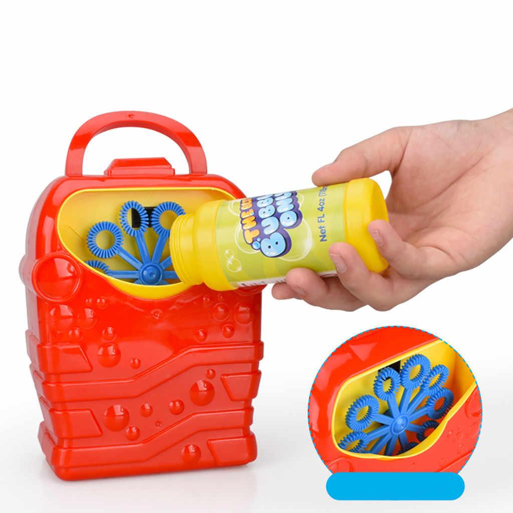Пузырьковая машина bulle прочная Автоматическая пузырьковая воздуходувка наружная игрушка для детей Девочка Мальчик bulles mariage мыло баллоны пузырьковый концентрат