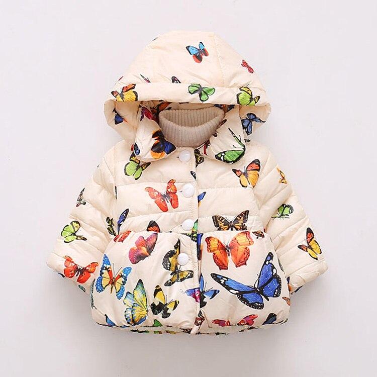 LZH Baby Girls Jacket 19 Autumn Winter Jacket For Girls Coat Kids Warm Hooded Outerwear Coat For Girls Clothes Children Jacket 44