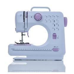 ماكينة خياطة صغيرة Fanghua 12 غرزة المنزلية متعددة الوظائف مزدوجة الخيط والسرعة الحرة الذراع صياغة إصلاح آلة LED