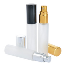 30pcs/lot 10ml Portable Glass Perfume Bottle Aluminum Atomizer Empty Cosmetic Container New