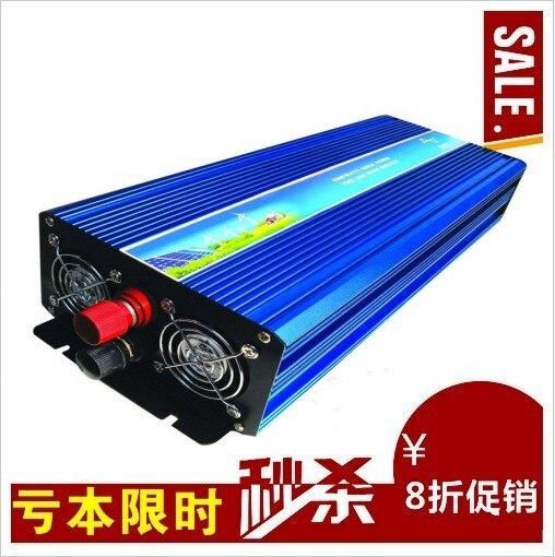 цена на Dc 24v to ac 220v Pure Sine Wave DC-AC Inverter 5000W, 5000W inverter dc to ac, Pure sine wave inverter 5000W peak 10000W