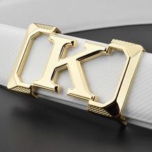 Высокое качество, дизайнерские мужские ремни с буквенным принтом, на каждый день, настоящая мода, ремень на талию, кожа, Офф-белоснежные, cintos masculinos ceinture homme