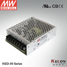 Genuine Meanwell NED-50A 50w Dual output 5V 1.0~6.0A 12V 0.3~3.0A mean well power supply