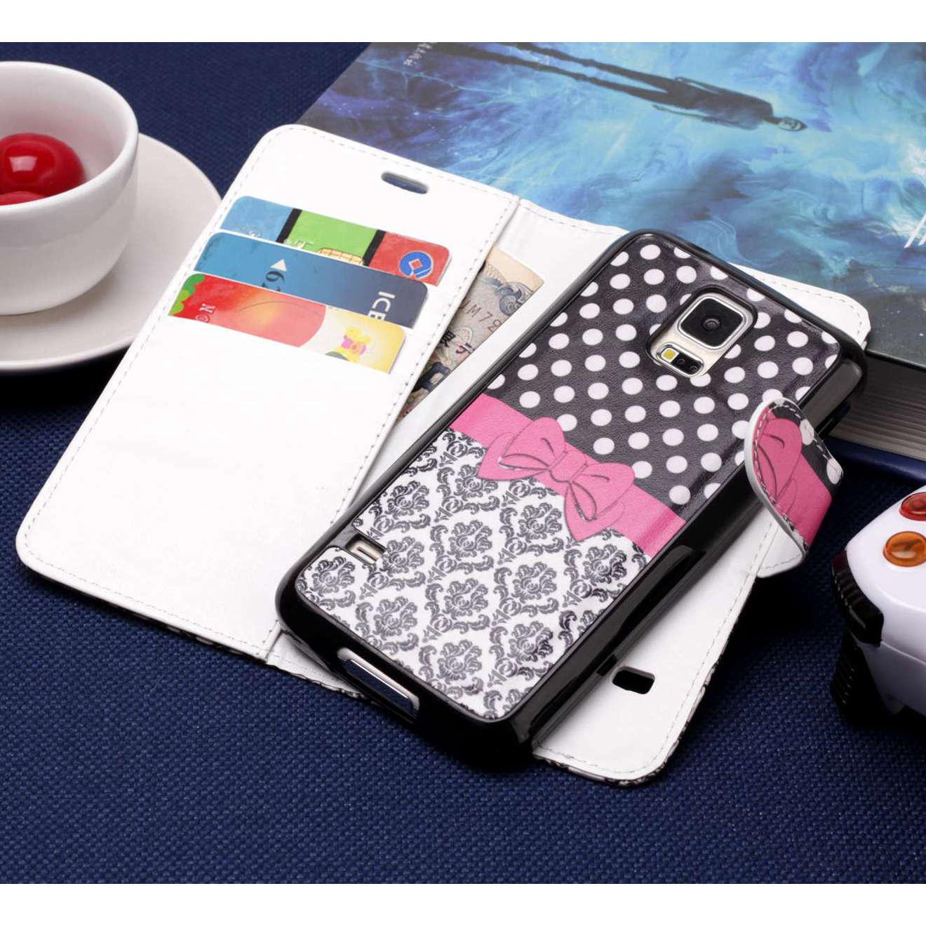 Misolocat для samsung Galaxy S5 флип чехол Роскошный кожаный бумажник Фолио Магнит Капа принципиально съемная