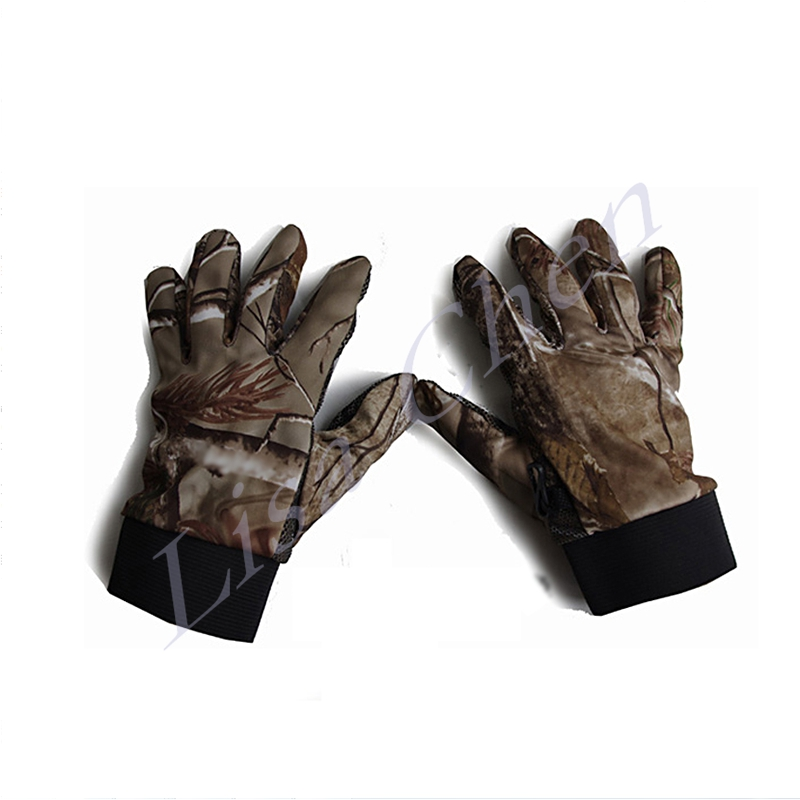 Bionic camouflage hunting font b gloves b font camouflage font b gloves b font outdoor slip