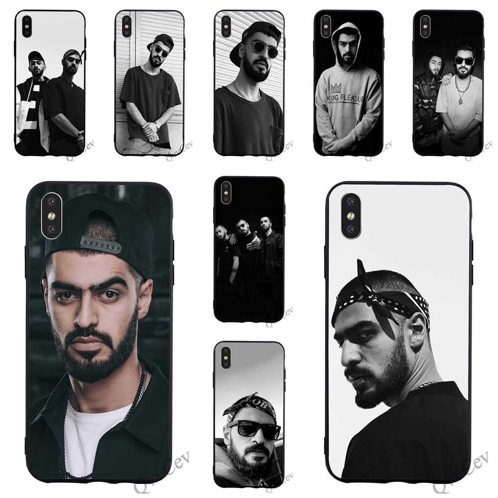 Print Miyagi & Endshpiel Phone Cover for iPhone 6 Case 7 XR X 8 Plus 5 6S 5S SE Xs Max Silicone Covers Skin
