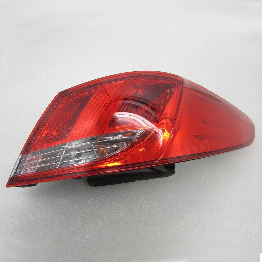 Для Peugeot 408 2010-2012 снаружи фонарь задний фонарь в сборе задние фонари 1 шт.