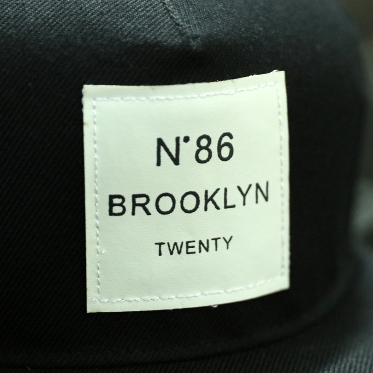2018 New Men Womens BROOKLYN Letters Solid Color Patch Baseball Cap ... 9959f104c968