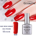 New fashion 8ML UV Gel Nail Polish UVLED Gel Lucky SoakOff Wine Red Series Nail Vernis Permanentes De UV Gel Lacquer