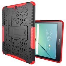 for Galaxy Tab S2 9.7 T810 T815 Hybrid Bag Cover Kickstand PC + TPU Tablet Case for Samsung Galaxy Tab S2 9.7 T810 T815