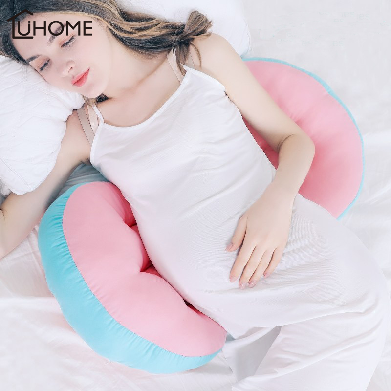 Pregnancy Pillow Bedding Belly Support Side Sleepers Pillow for Pregnant U-Shape Cushion Sleeping Maternity Pillow Protect Waist Подушка