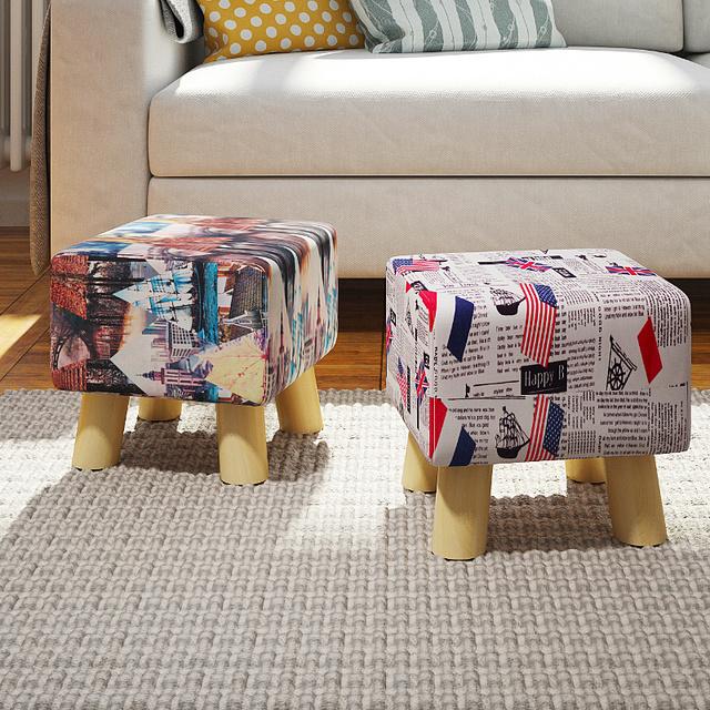 Promoção de alta qualidade da moda criativa sapatos sofá banco fezes fezes fezes mesa de madeira pequena em volume frete grátis