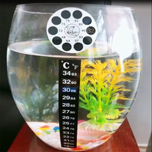 Temperature Sticker Aquarium Fish Tank Thermometer  Aquarium Accessories Digital Dual Scale Stick-on High Quality Durable