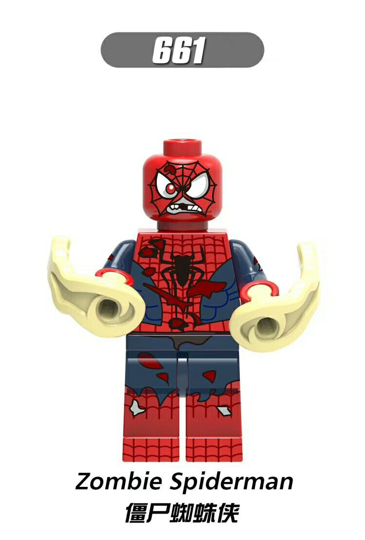 Zombie, spiderman, warhead_4