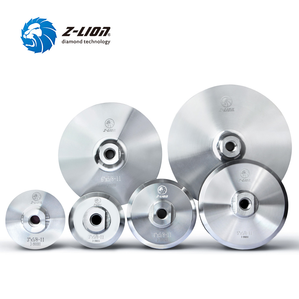 Z-LION Aluminum Backer Pad For Diamond Polishing Pad 3/4