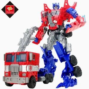 Quality Transformation Robot to Truck Car Transformor Toys DIY Robot Toys Kids Best Xmas Gift