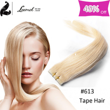 20Pcs/Sest Virgin Hair Straight Brazilian Grade 8a Skin Wft Tape Hair Extension Human Hair Tape Ins With 10colors The Best Hair