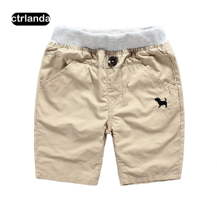 summer cotton casual shorts children clothes fashion pure color shorts big kids good quality loose boys